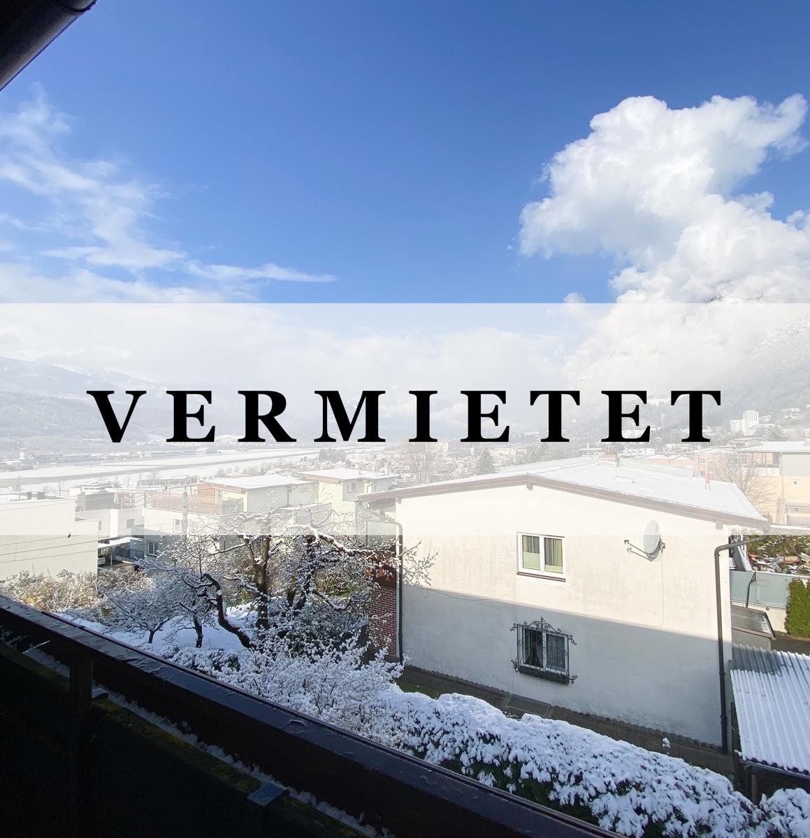 3-Zimmer-Wohnung mit Loggia in Hötting zu vermieten!